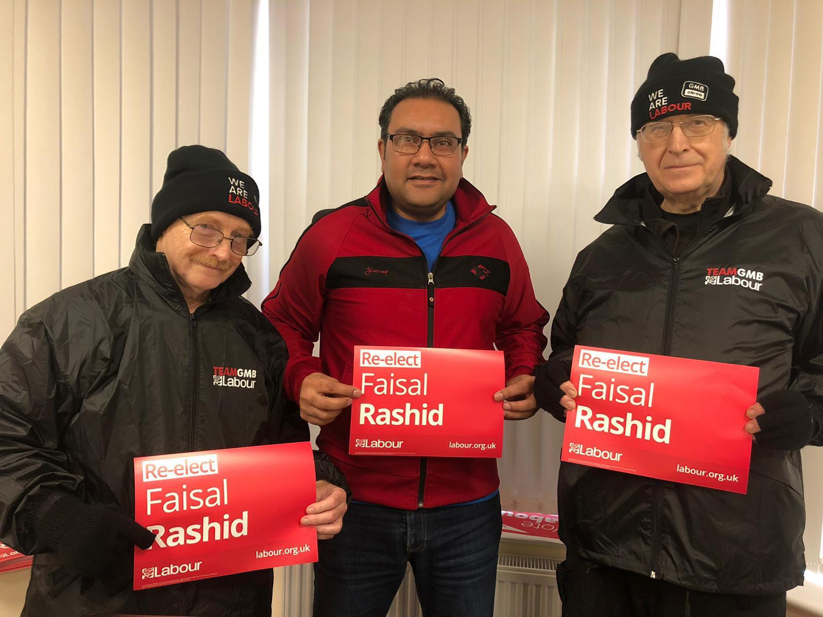 Mian Faisal Rashid (born 6 September 1972) is a British Labour Party politician. He was the Member of Parliament (MP) for Warrington South.