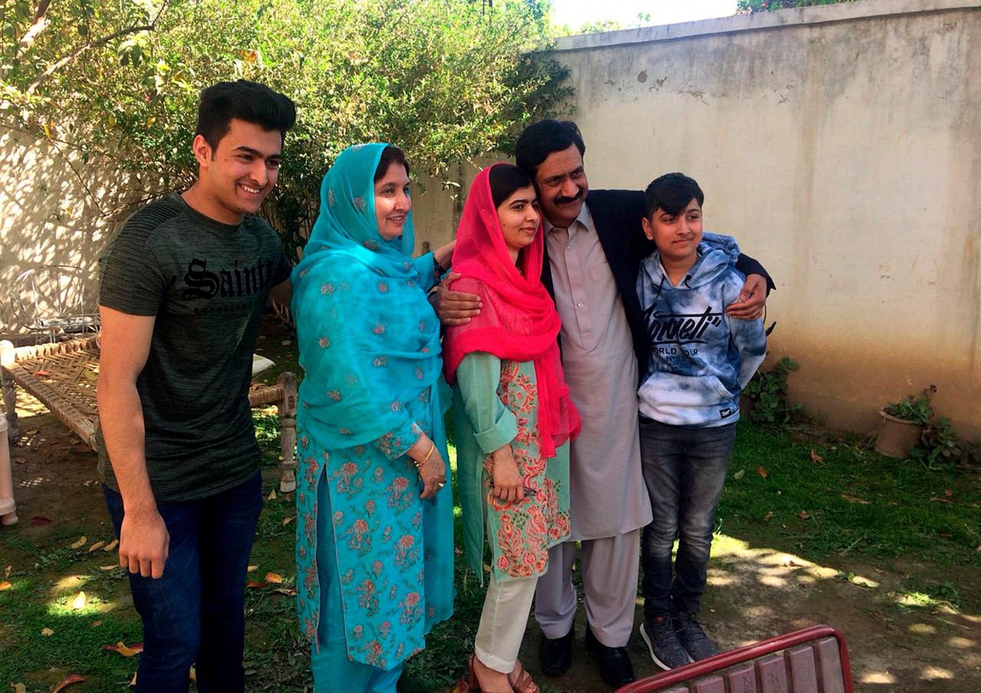 Malala Makes an Emotional Visit to Her Pakistani Hometown